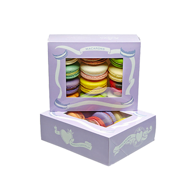 Custom Window Dessert Packaging Boxes 2