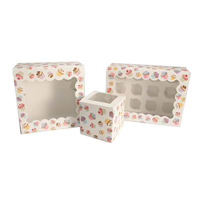 Custom Cupcake Boxes Wholesale 3