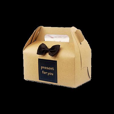 Custom Brown Bakery Boxes 1