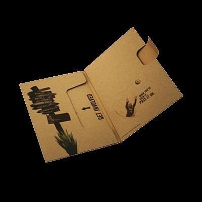 Custom Printed CD Storage Packaging Boxes 1