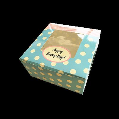 Custom Window Cake Packaging Boxes 1