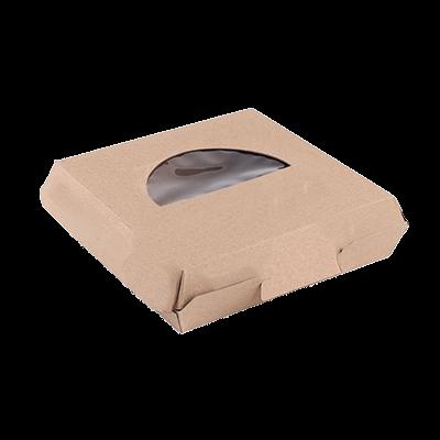 Custom F-flute Pizza Window Boxes 4
