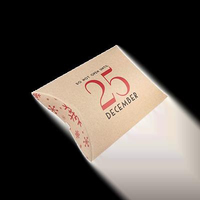 Custom Kraft Paper Gift Pillow Boxes 2