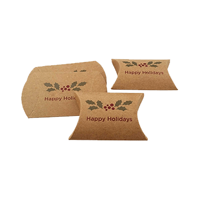 Custom Kraft Paper Pillow Boxes 4