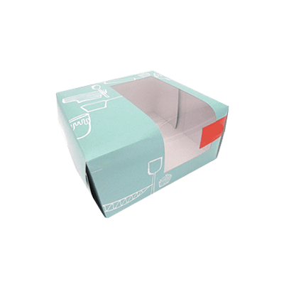 Custom Window Cake Packaging Boxes 3