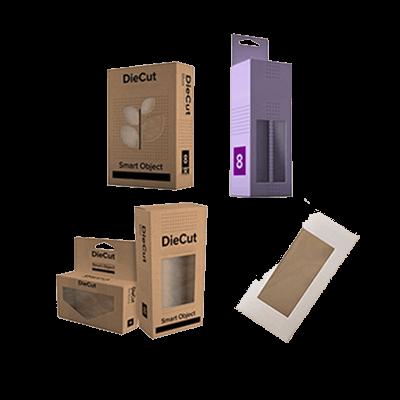 Custom Window Die Cut Boxes 3