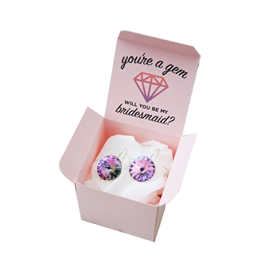 Custom Printed Earring Packaging Boxes 3