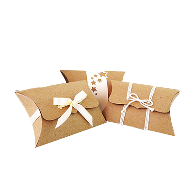 Custom Kraft Paper Pillow Soap Boxes 1