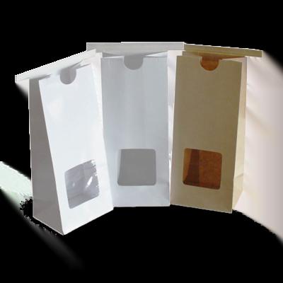 Custom Kraft Window Packaging Bags 4
