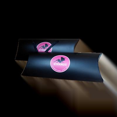 Custom Matte Black Hair Extension Boxes 3