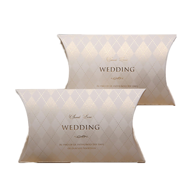 Custom Wedding Gift Pillow Boxes 3