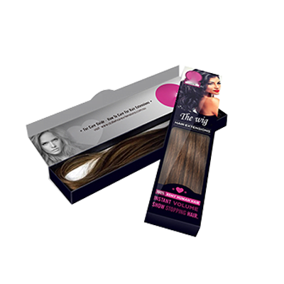 Custom Window Hair Extension Boxes 1